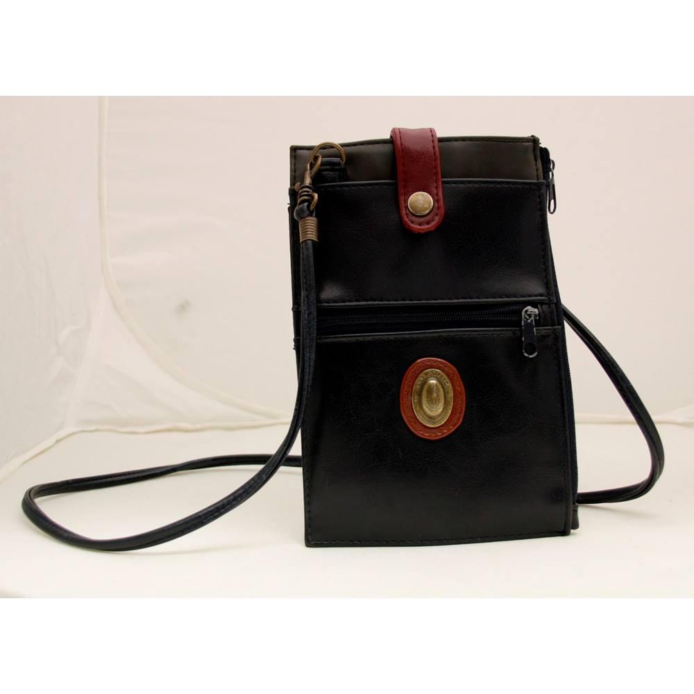 Vintage Jane Shilton Shoulder Bag - Black - Leather  a154acb8b0cad