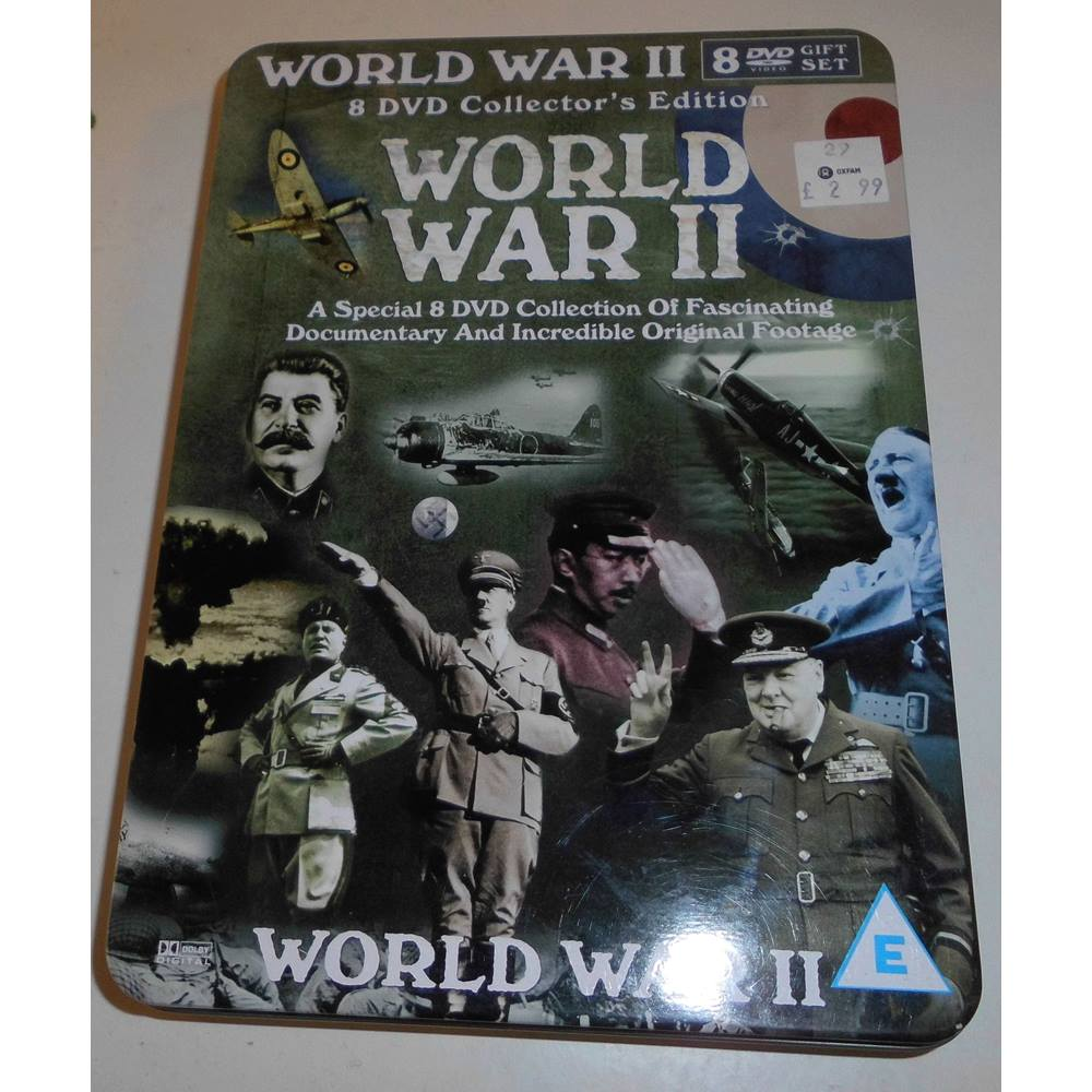 World War II 8 DVD Collector's Edition E | Oxfam GB | Oxfam's Online Shop