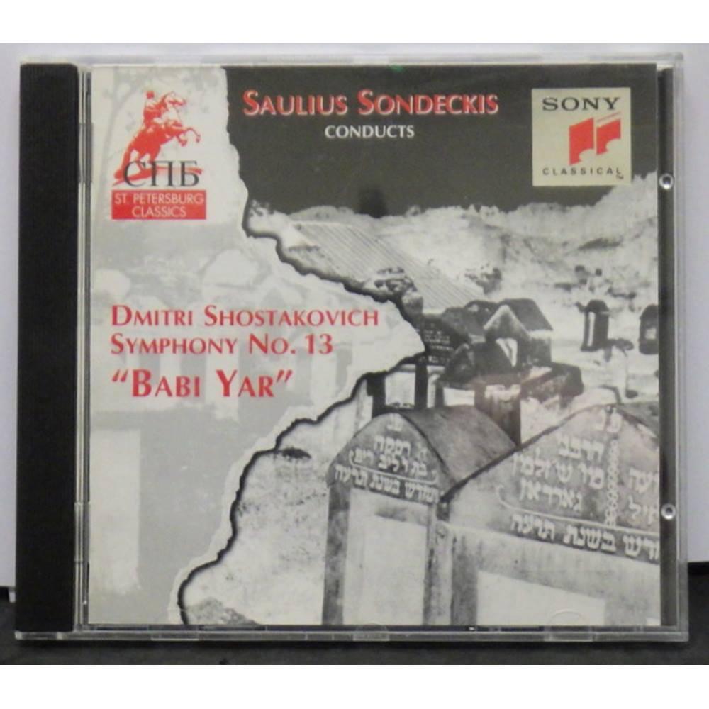 Shostakovich / Symphony No 13