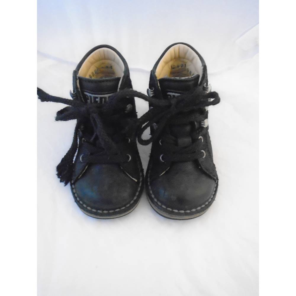 9f7b34c8aa Girls/boys Piedro orthopaedic black leather shoes,boots size 21 PIEDRO  THERAPY FOOTWEAR -