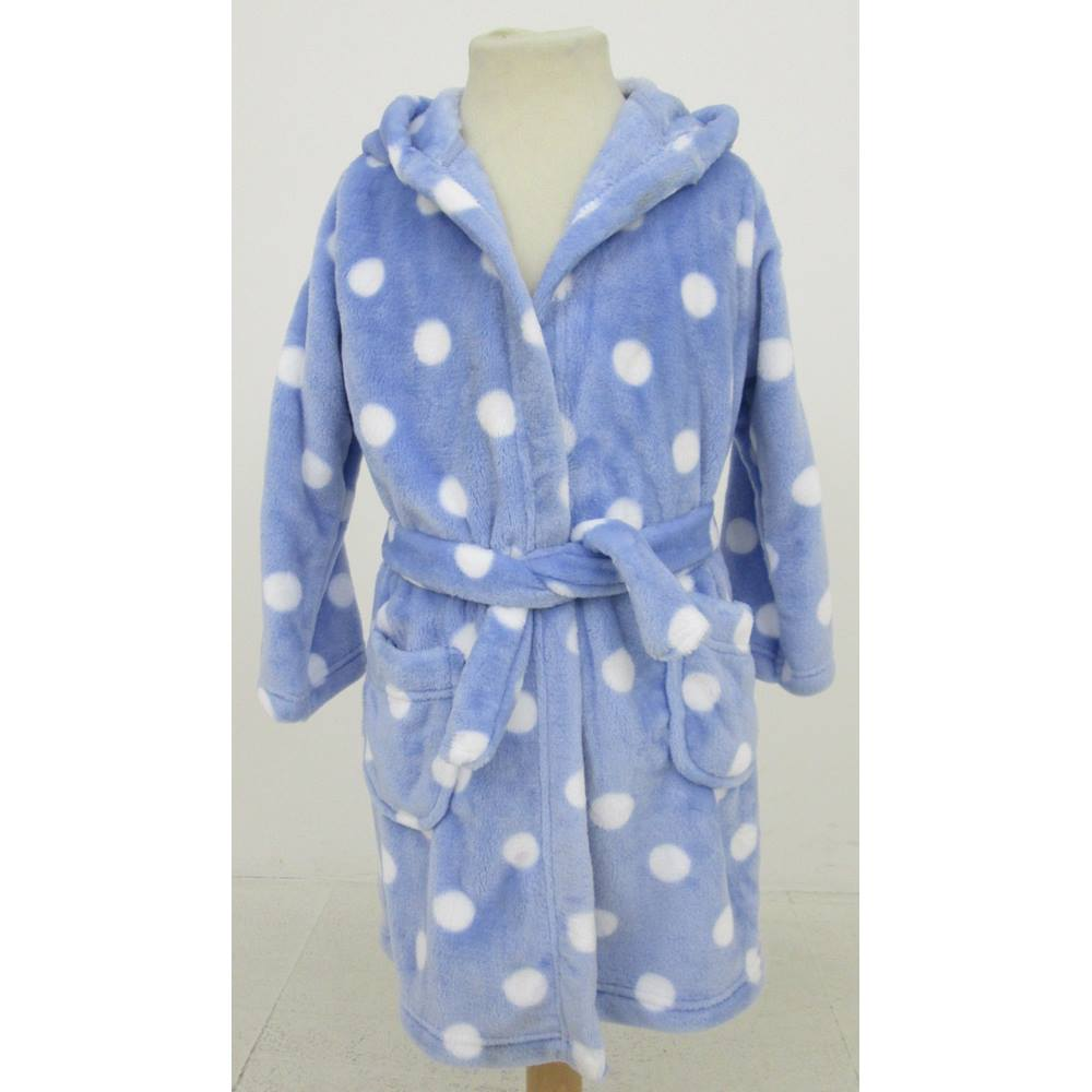 M S Size 2-3 years blue fluffy dressing gown For Sale in Milton ... c7bf184c7233