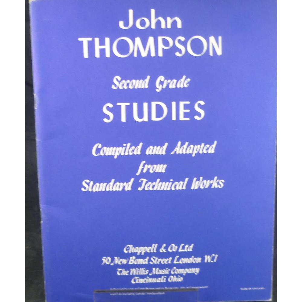 fifty seceond grade studies compiled and adapted from standard technical works