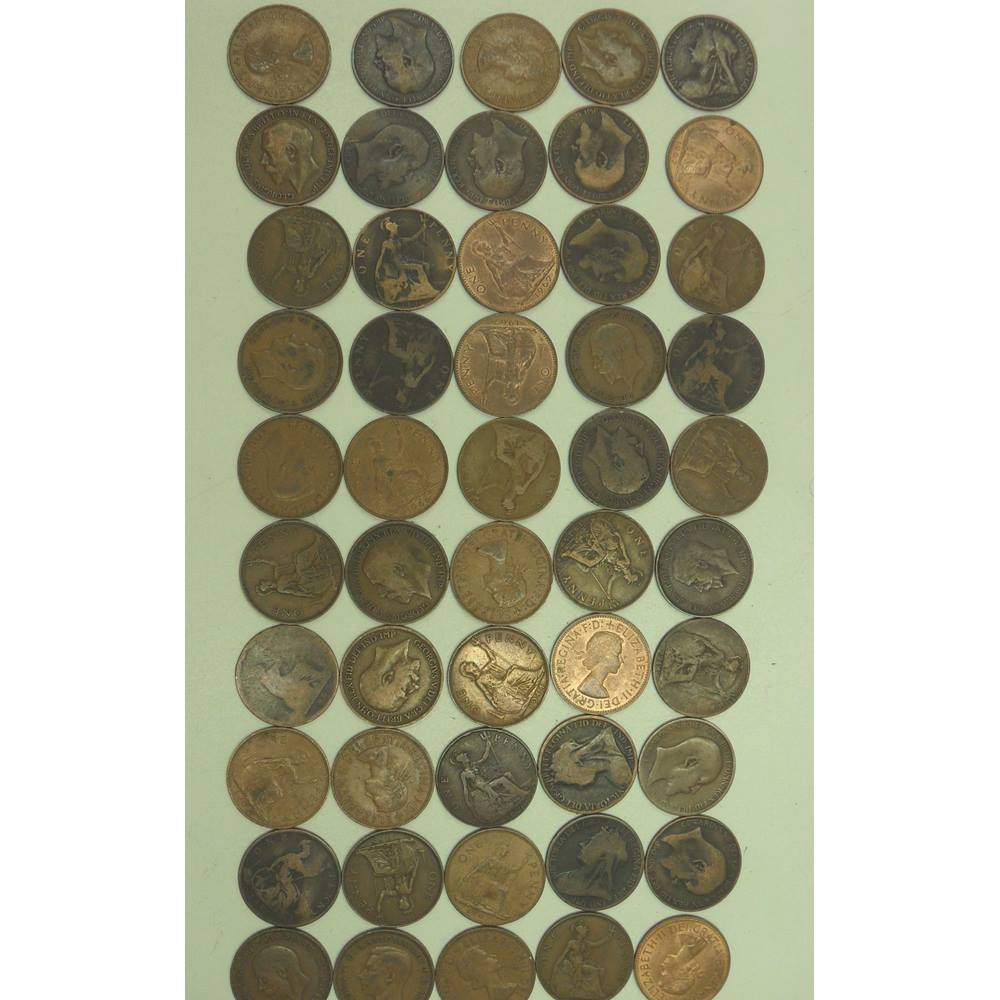 50 x GB old pennies - Lucky dip   Oxfam GB   Oxfam's Online Shop