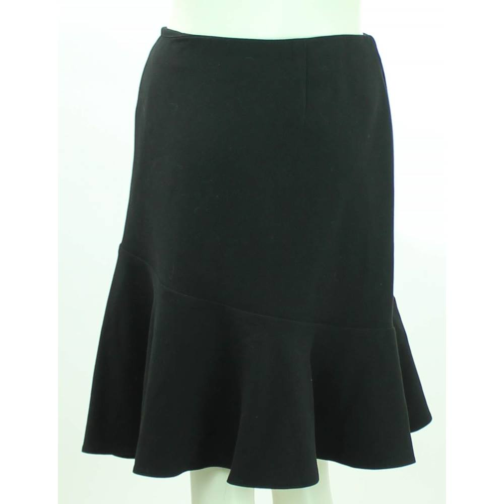 ed14832d268 BNWOT M S Collection - Size  20 - Black - Frill Knee Length Skirt. Loading  zoom. Rollover to zoom