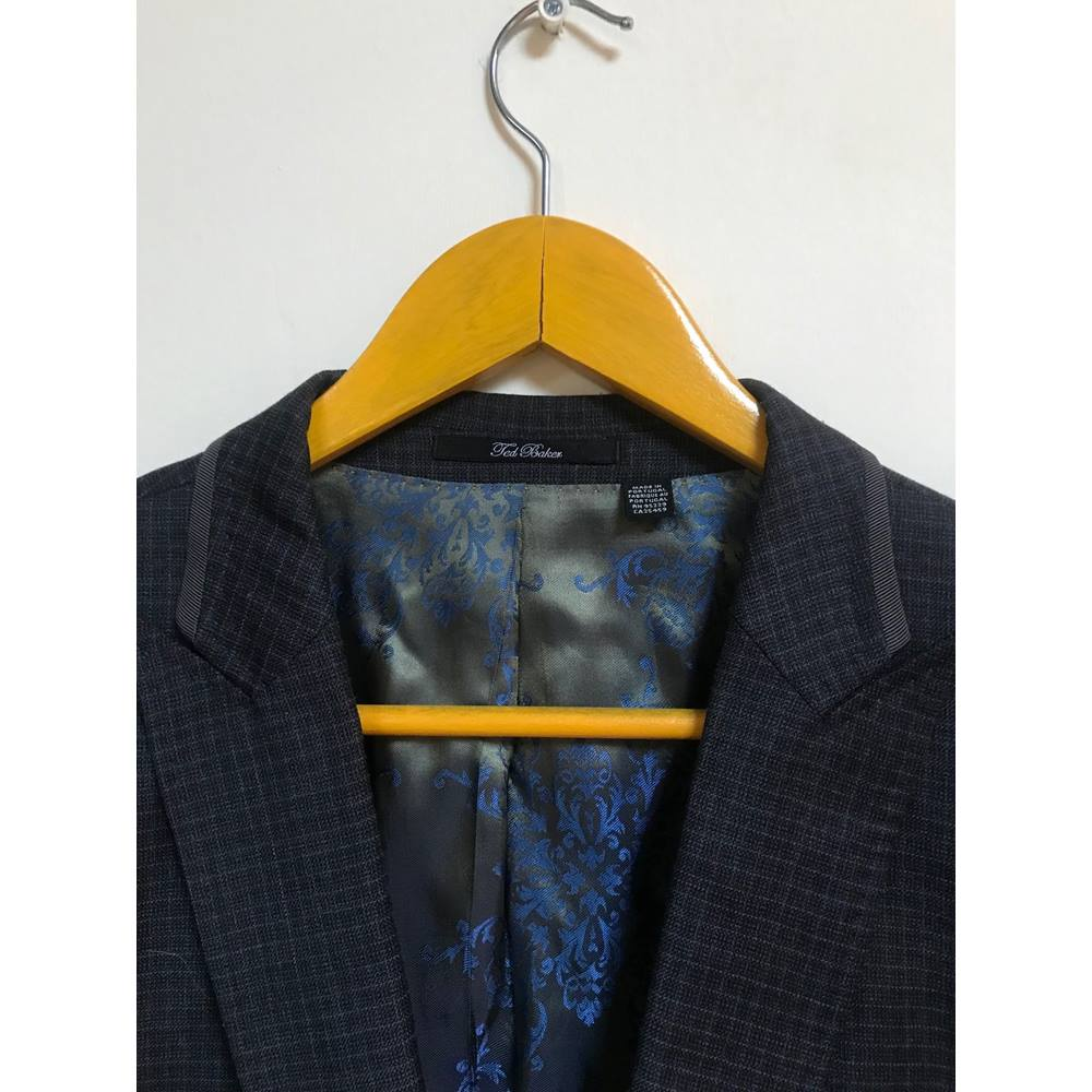 252e9cd3c9f91 Ted Baker jacket Ted Baker - Size  M - Grey - Smart jacket   coat. Loading  zoom