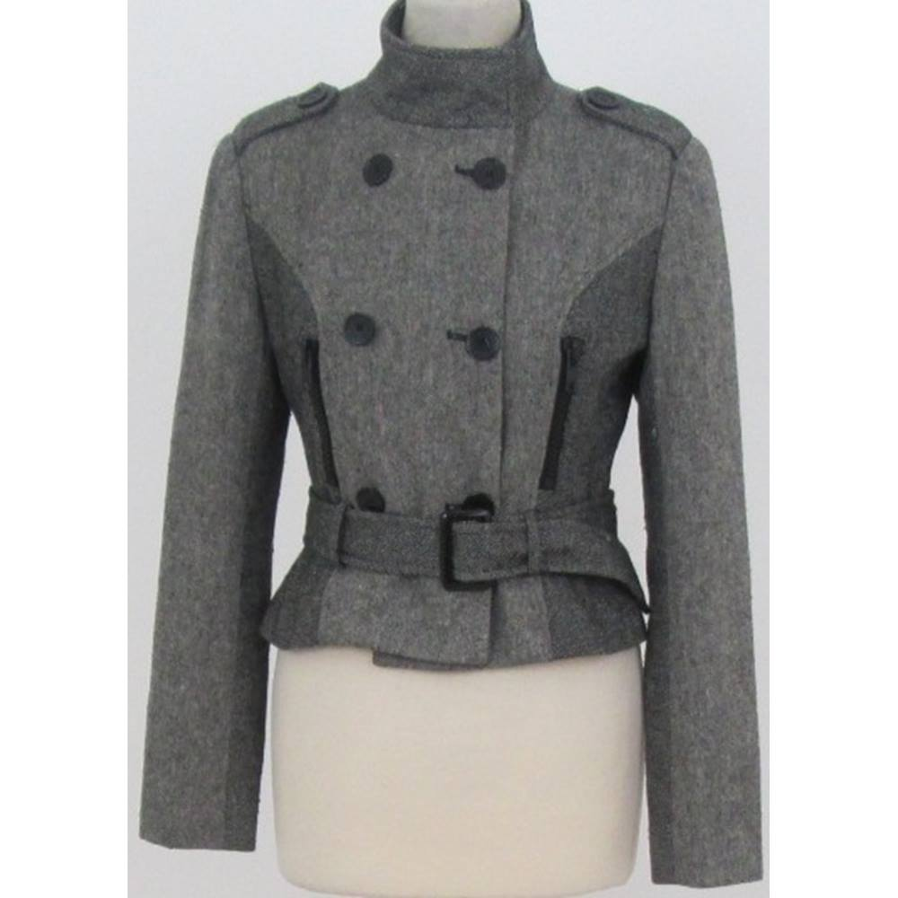 24f1ddebb0 Oxfam Online Hub Milton Keynes A classic wool mix jacket that is perfect to  keep you warm. The double-breasted design makes it unique.