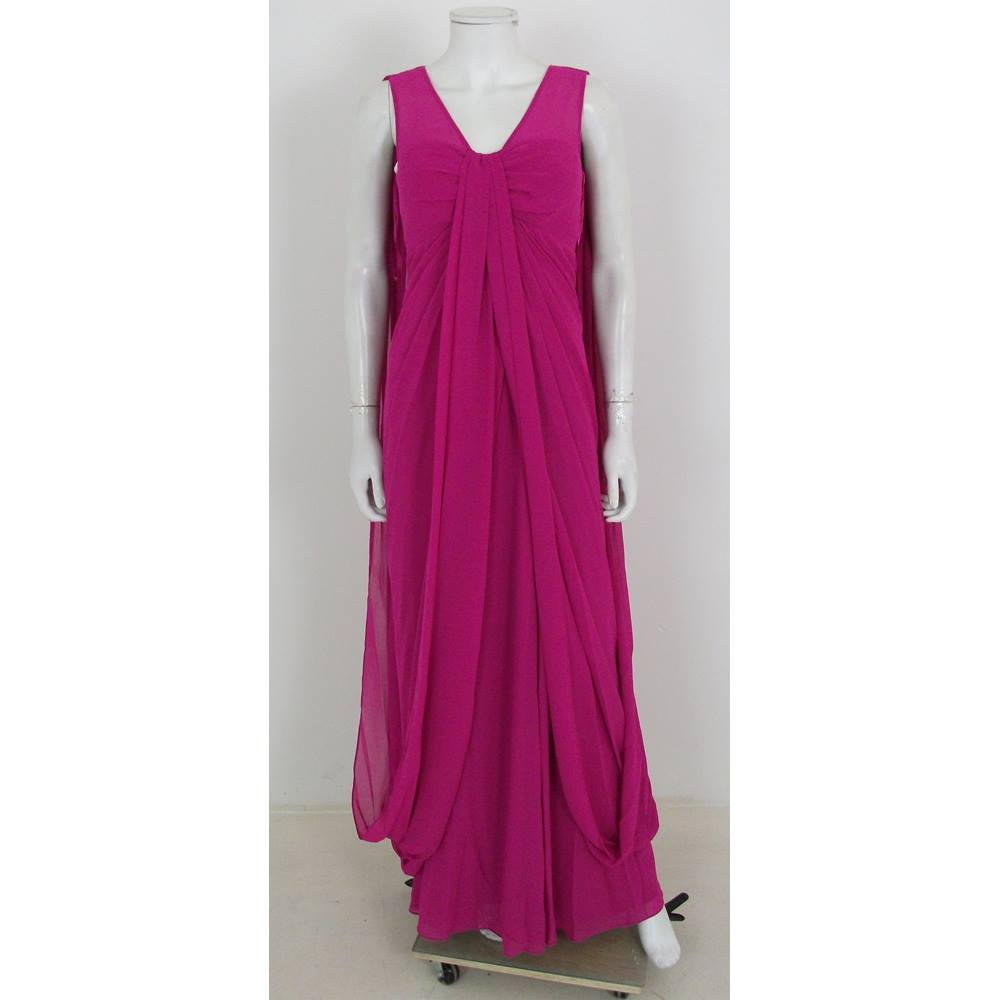 b2984fdbe Ted Baker Cerise Pink Evening Dress Size 1   UK Size 8. This advert is  located in and around Batley