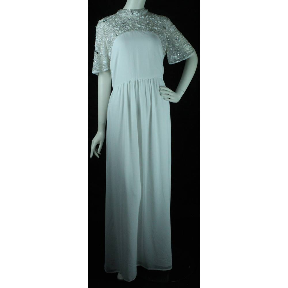 Simple Wedding Dresses Asos: Chiffon Wedding