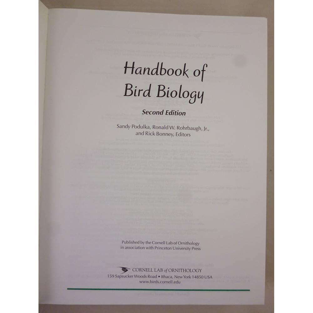 Cornell Lab of Ornithology Handbook of Bird Biology   Oxfam GB   Oxfam's  Online Shop