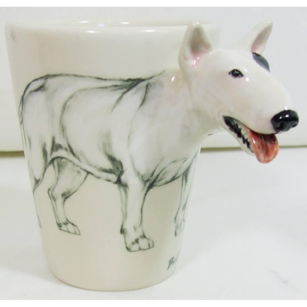 cf3fbba60a6 Blue Witch Bull Terrier Handmade 8oz Coffee Mug | Oxfam GB | Oxfam's Online  Shop