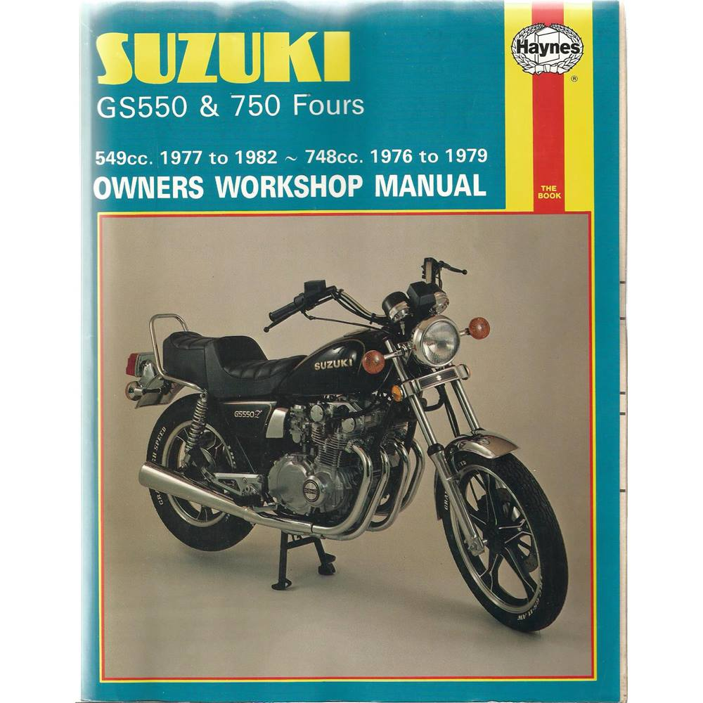 Suzuki Gs550 (1977 - 1982) & Gs750 Fours (1976 - 1979) For Sale in Exeter,  London | Preloved