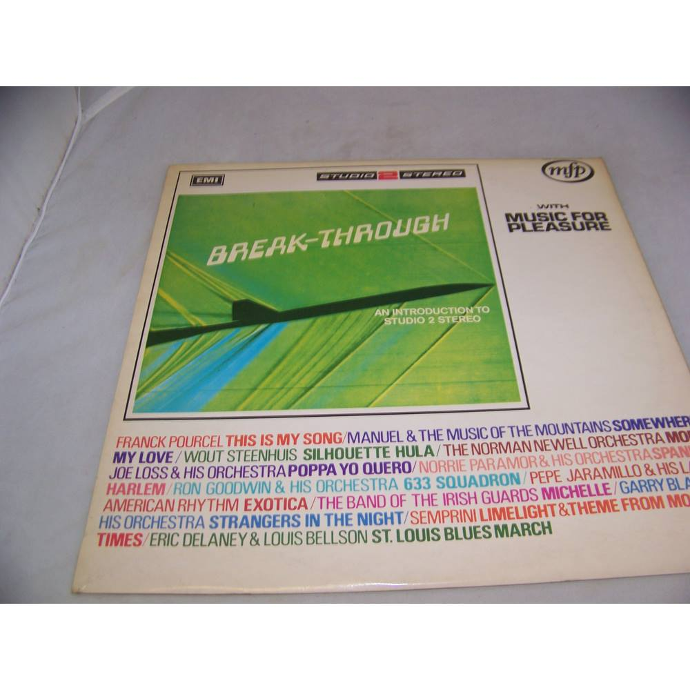 Image 1 of Breakthrough with Music for Pleasure Various Artists - mfp 1334 - LP