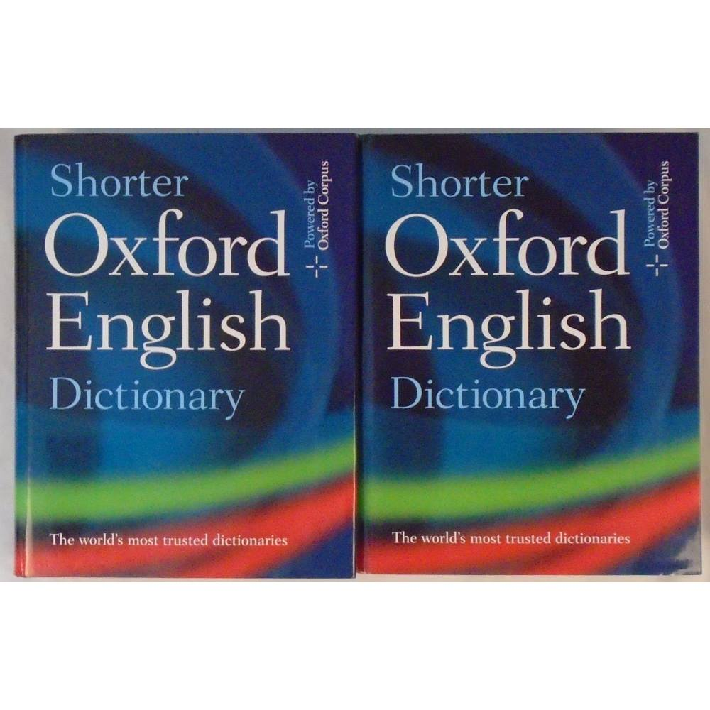 Shorter Oxford English Dictionary | Oxfam GB | Oxfam's Online Shop