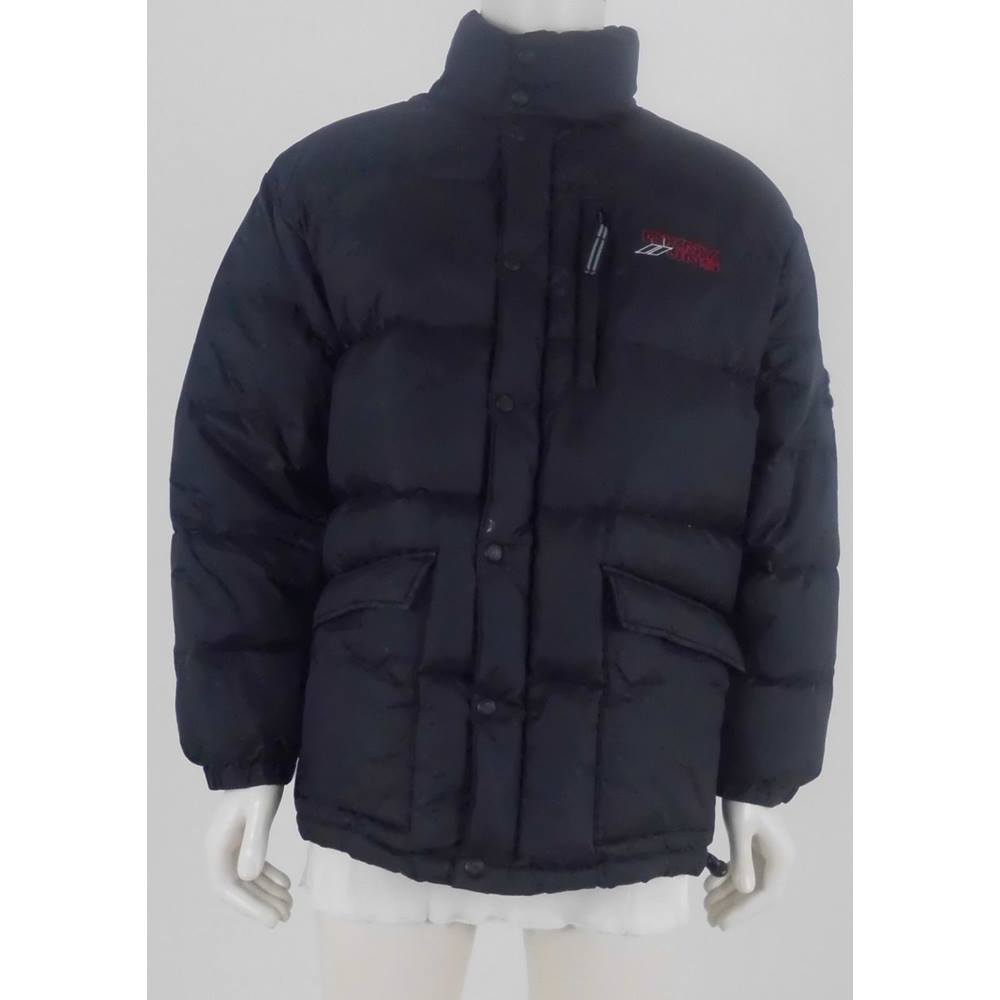 DKNY JNS Size: M Black Duck Down Quilted Coat