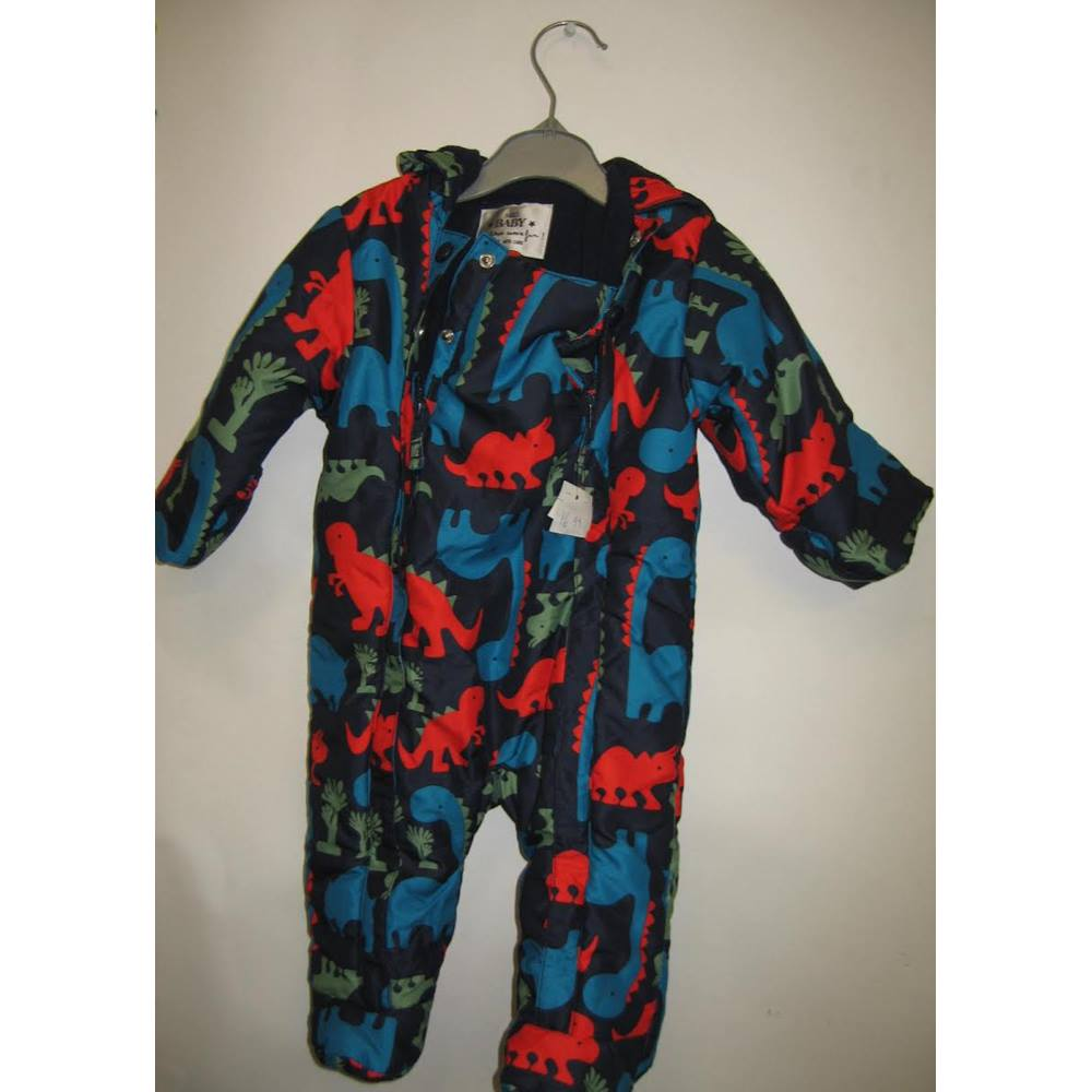 2c9a92576ed0 Marks   Spencers Baby Dinosaur Snowsuit Age 3-6 Months