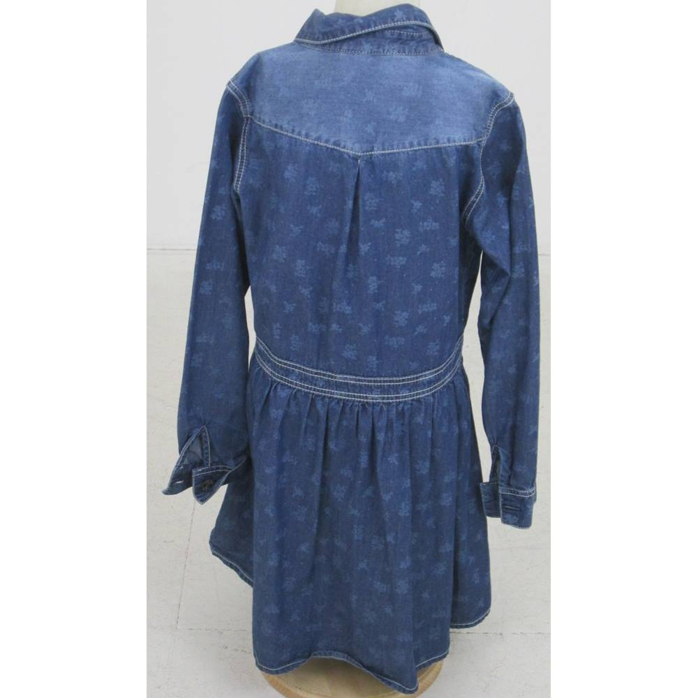 c604dbaa15 Next Size  12 Years Blue denim dress. Loading zoom. Rollover to zoom