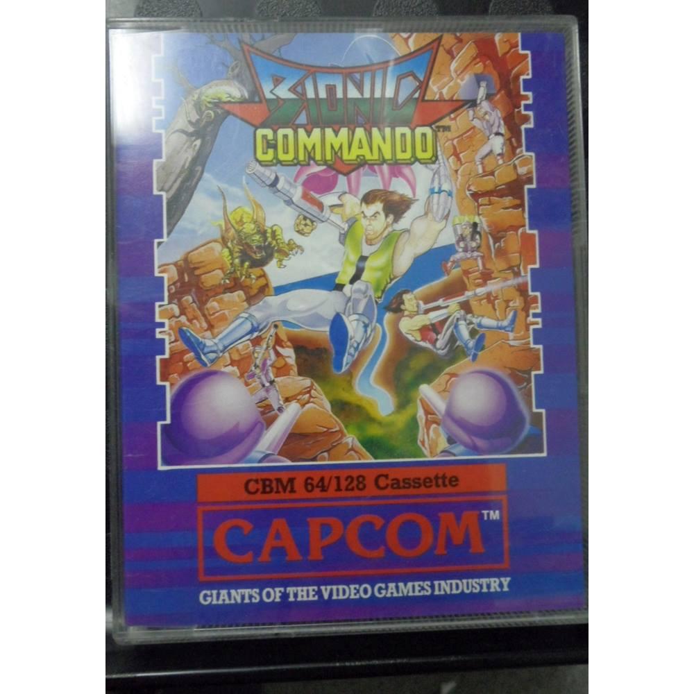 Vintage Commodore 64 /128 Cassette Games - Bionic Commando For Sale in  Cardiff, London   Preloved
