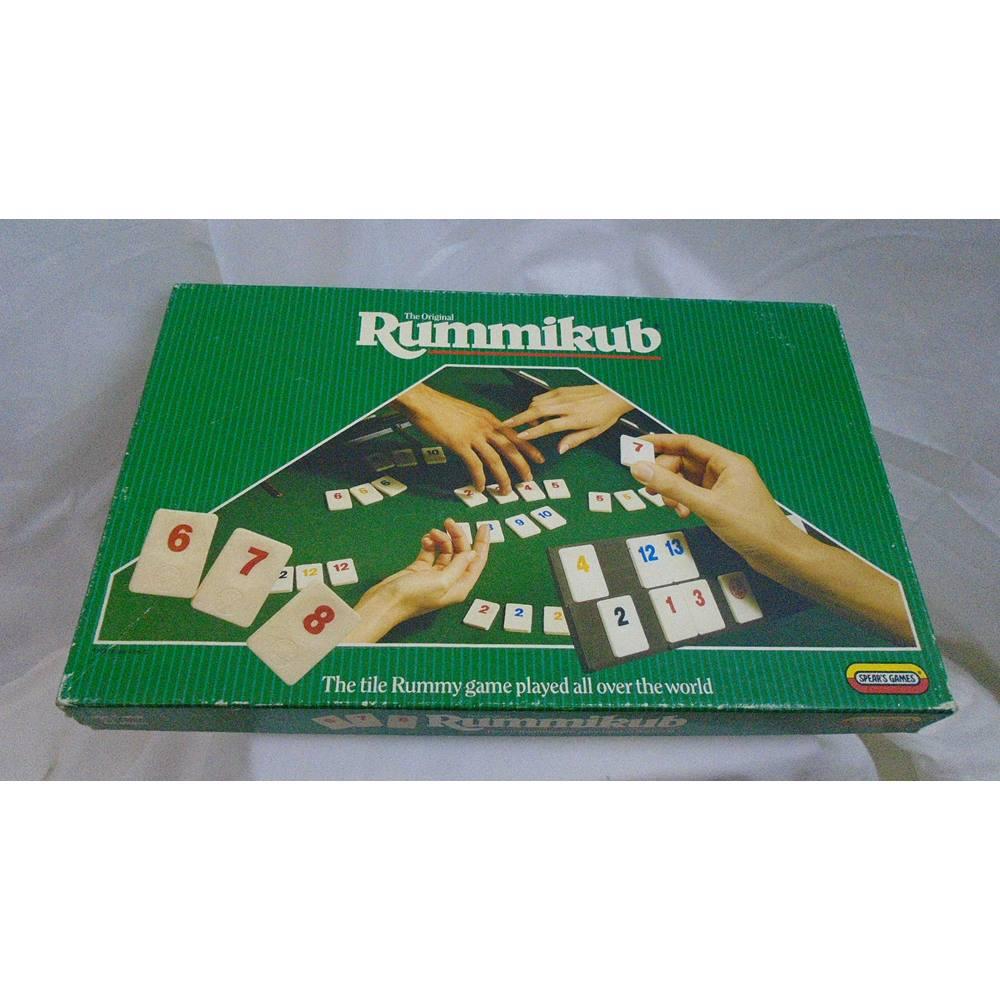 Vintage Rummikub Board