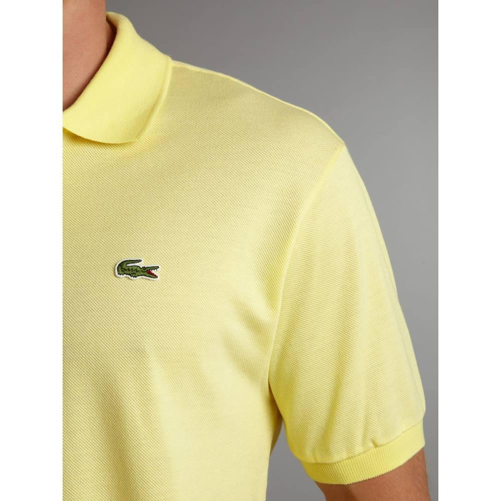 869e67595f Lacoste - Size: S - Yellow - Polo shirt | Oxfam GB | Oxfam's Online Shop