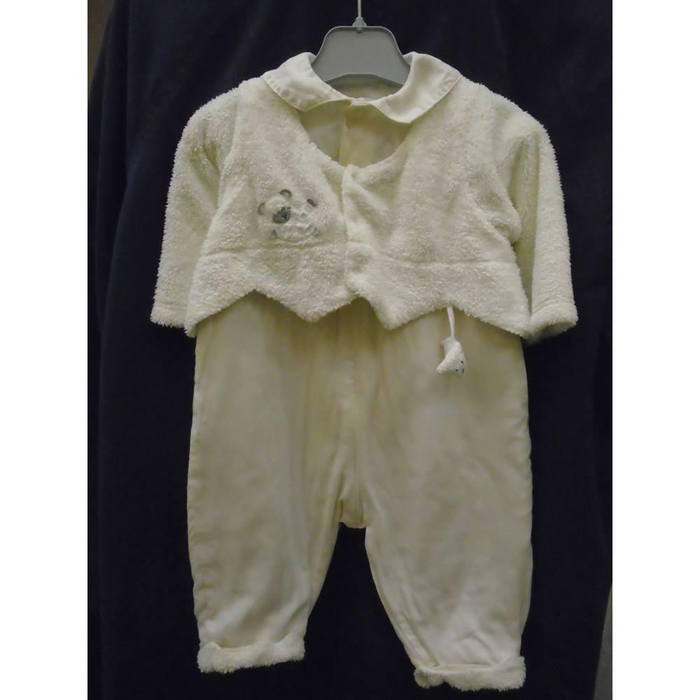 2f4163bda85c1 Catimini - Size: 6 - 12 months - White - Rompersuit | Oxfam GB ...