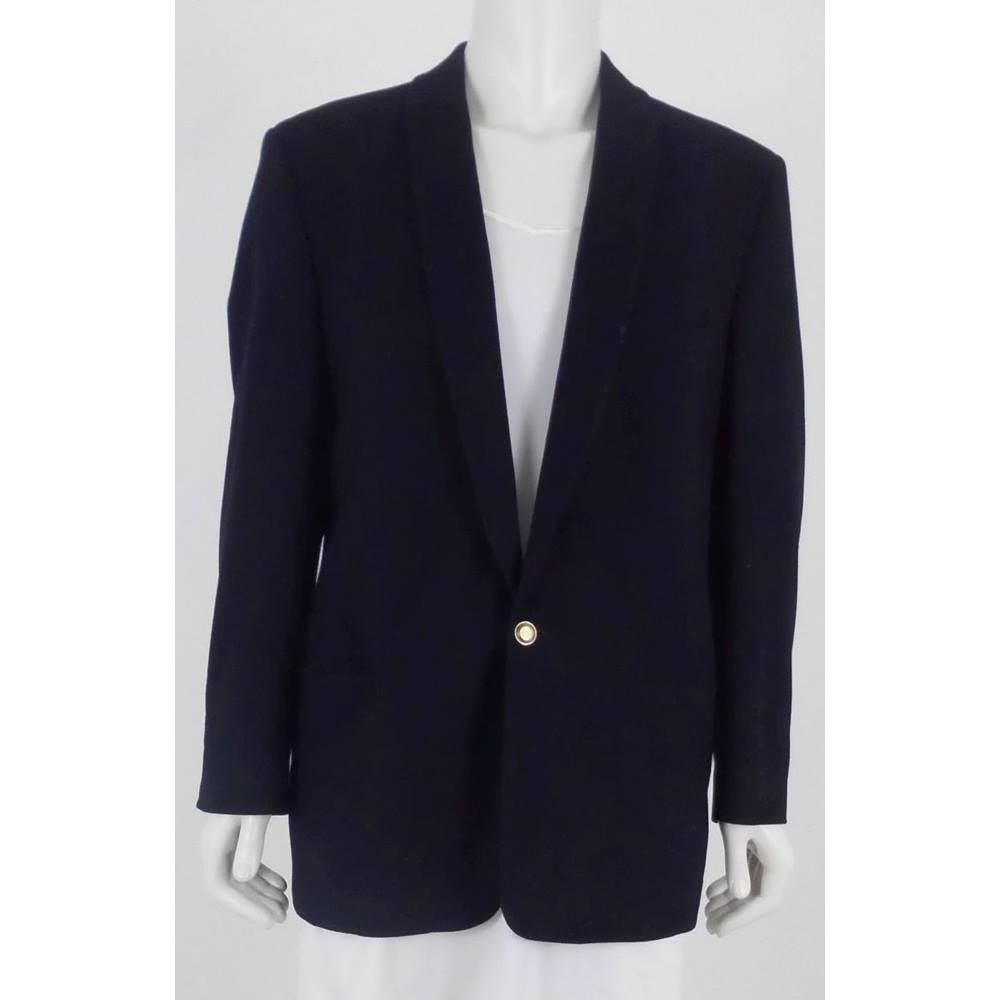 520b15ccef3f Oxfam Online Hub Batley This Versus suit jacket by Versace is perfect for  any formal occasion. Made with wool and cashmere