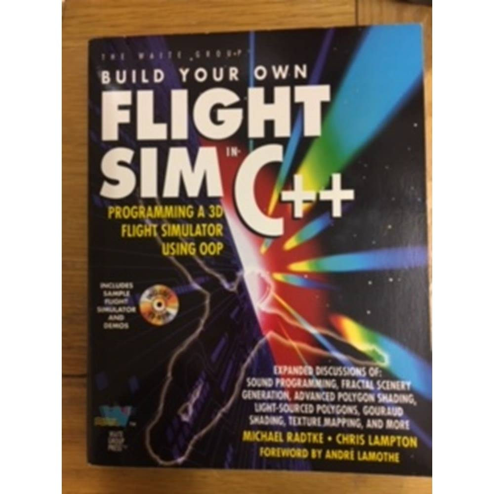 Build Your Own Flight Sim in C++: Programming a 3D Flight Simulator Using  Oop | Oxfam GB | Oxfam's Online Shop