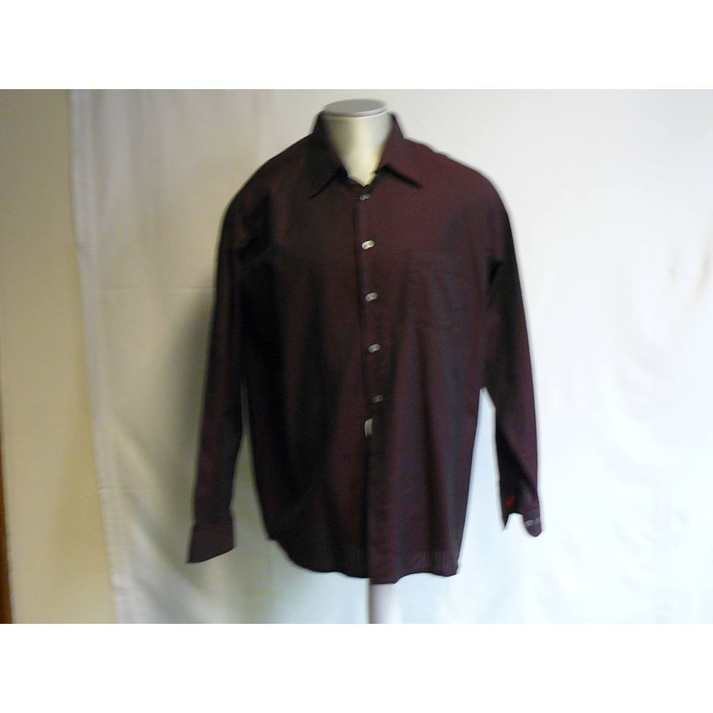 1c557398bf Men's XL dark red cotton Signum shirt Signum - Size: XL - Purple - Long. Loading  zoom
