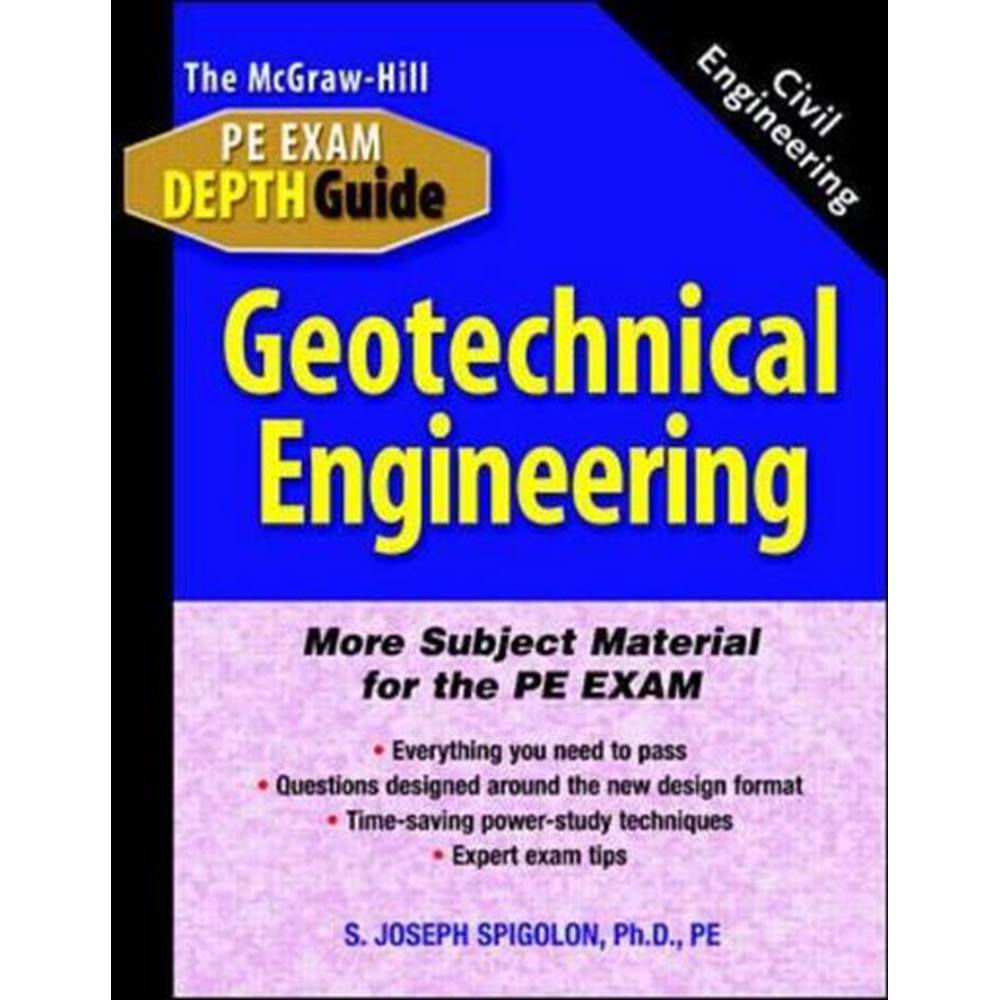 The McGraw-Hill civil engineering PE exam depth guide | Oxfam GB | Oxfam's  Online Shop