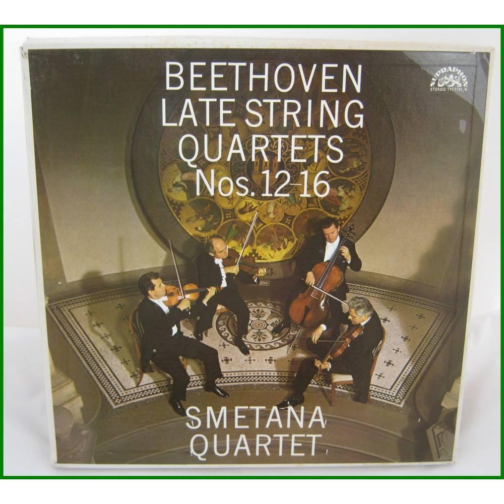 Beethoven Late String Quartets N°12-16 - Ludwig van Beethoven - Smetana  Quartet - 111 1151/4 | Oxfam GB | Oxfam's Online Shop