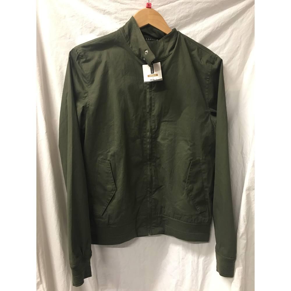 3e616476939d Topman - Size  S - Green - Bomber jacket