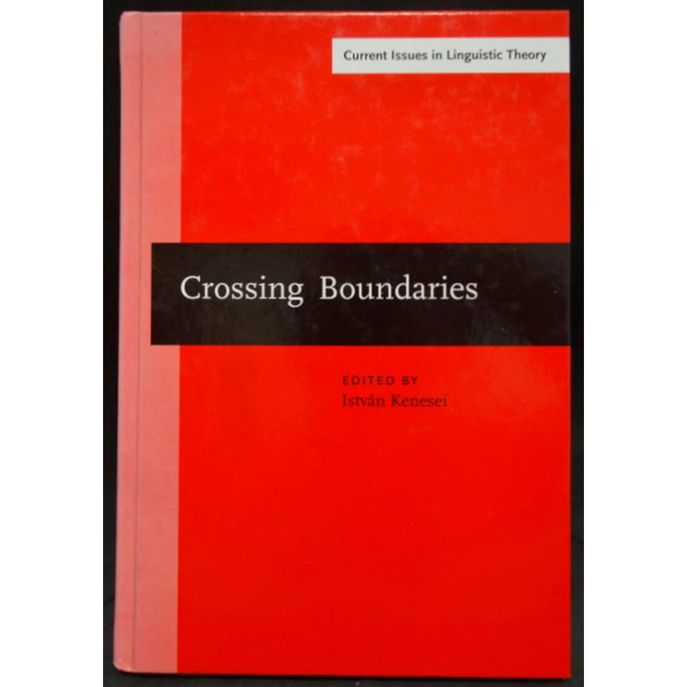 Preview of the first image of Crossing Boundaries - Advances in the Theory of Central and Eastern European Languages.