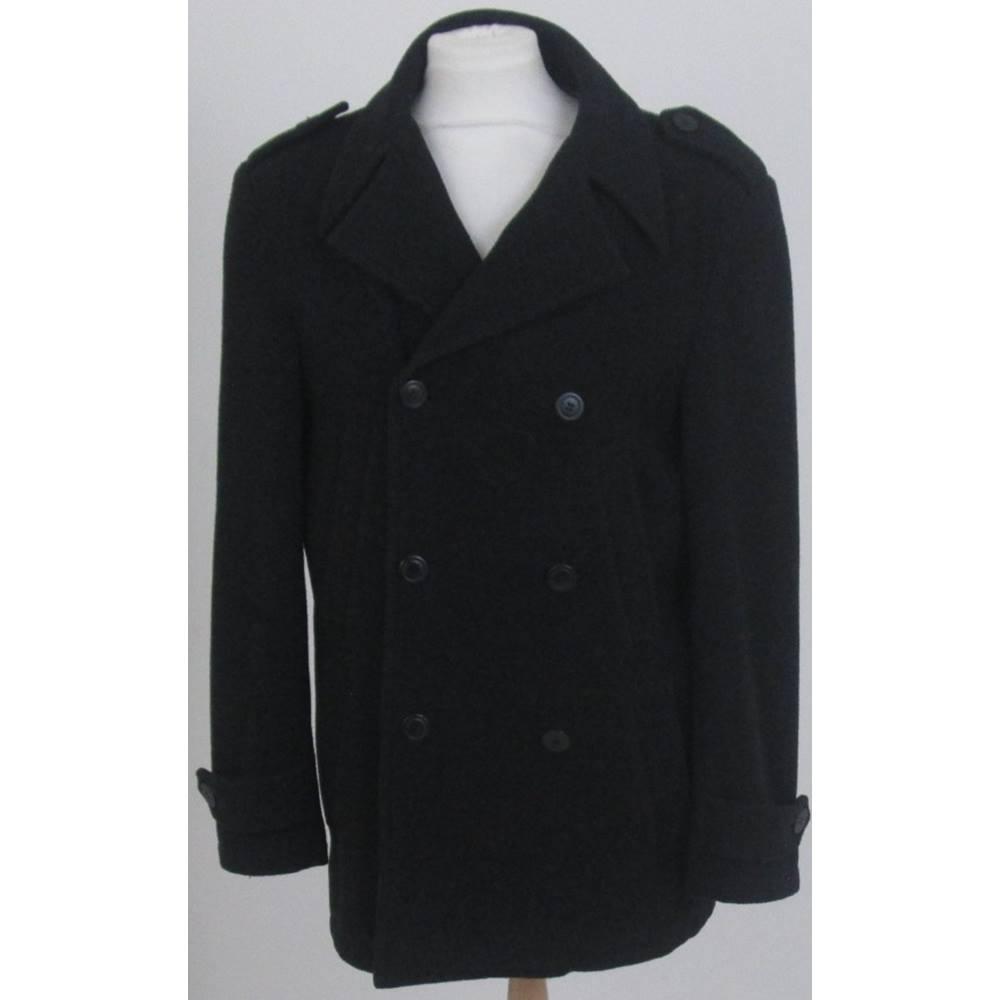 56cb17f09 Lakeland Size Small Black double Breasted Coat