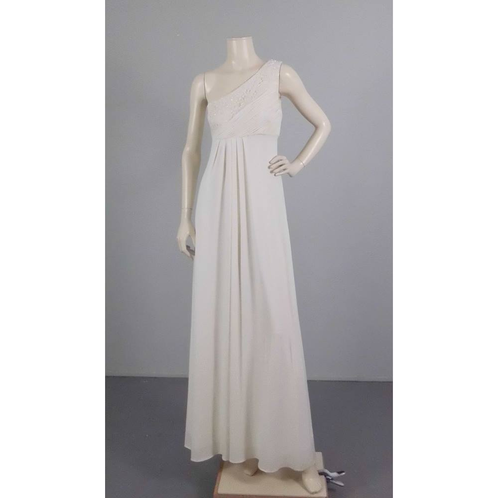 Grecian Wedding Dress.Js Boutique Size 12 White Grecian Wedding Dress Oxfam Gb Oxfam S Online Shop
