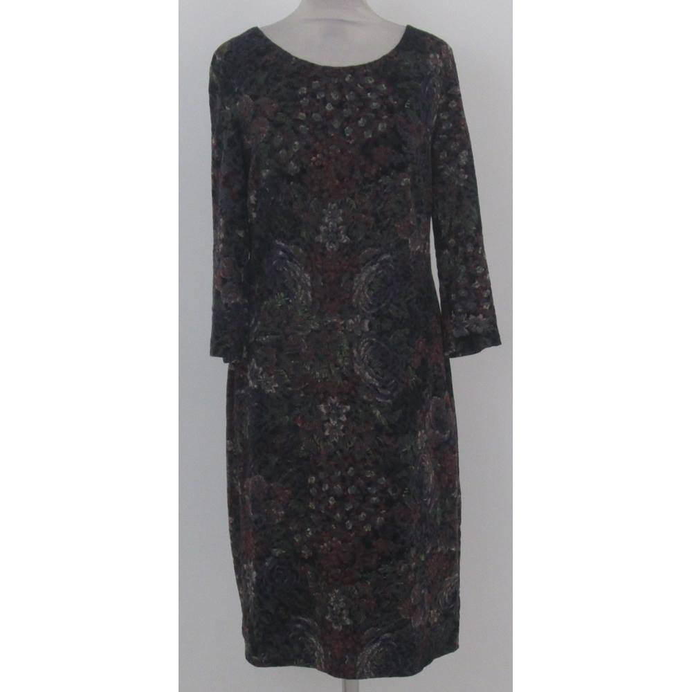 4091ae3f6 Laura Ashley: Size 12: Black, red, green, purple & white floral ...