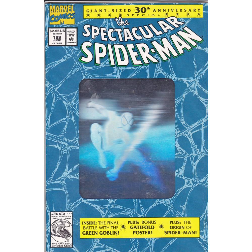 The Spectacular Spider-Man No 189 - June 1992 | Oxfam GB | Oxfam's Online  Shop