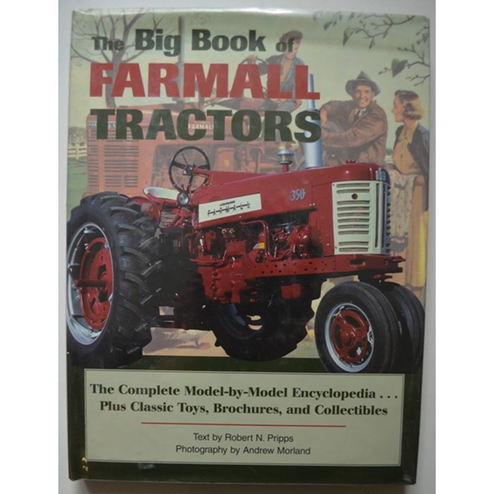 Preview of the first image of The Big Book of Farmall tractors.