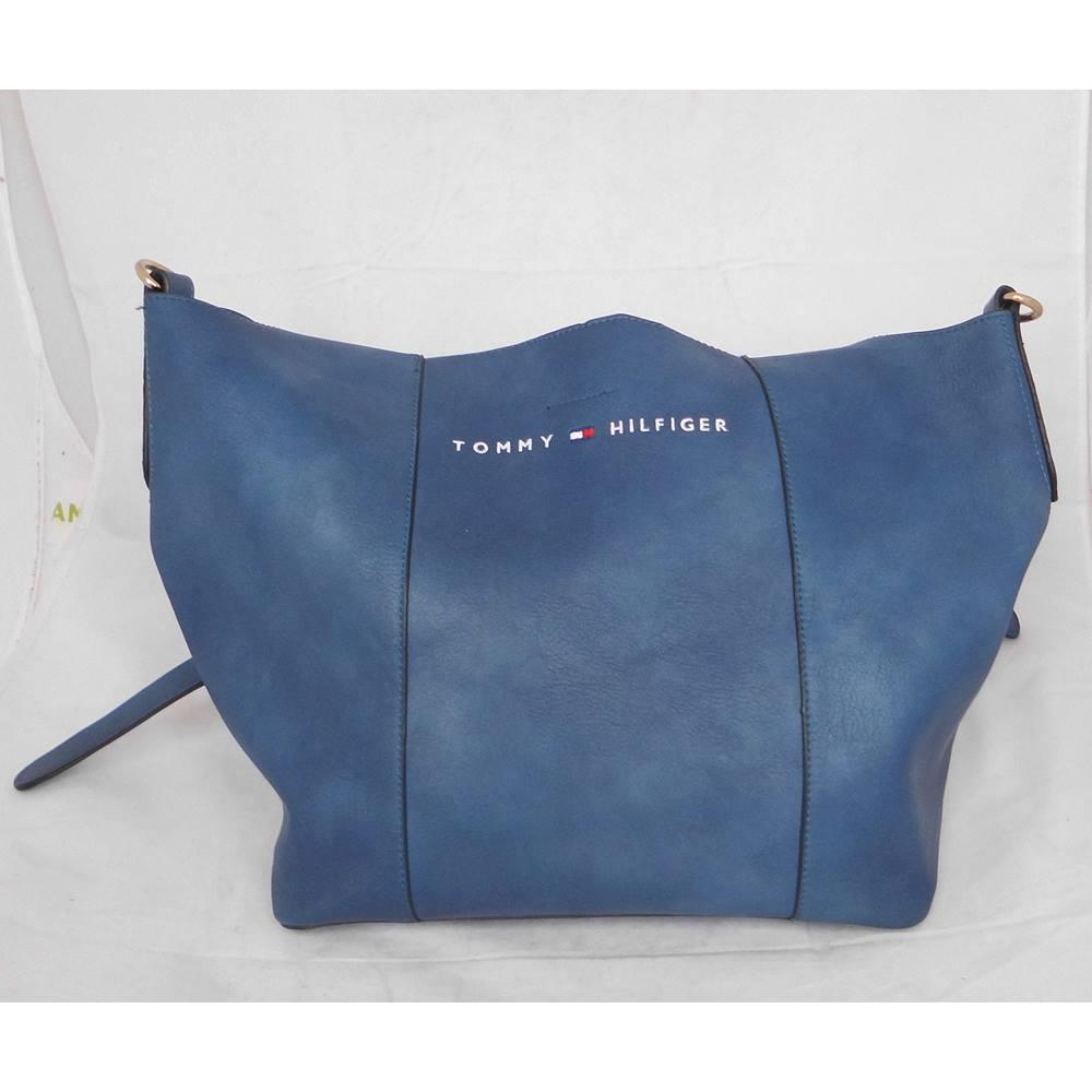 ca15ae3fa1b8 Tommy Hilfiger tote bag and purse - Blue | Oxfam GB | Oxfam's Online Shop