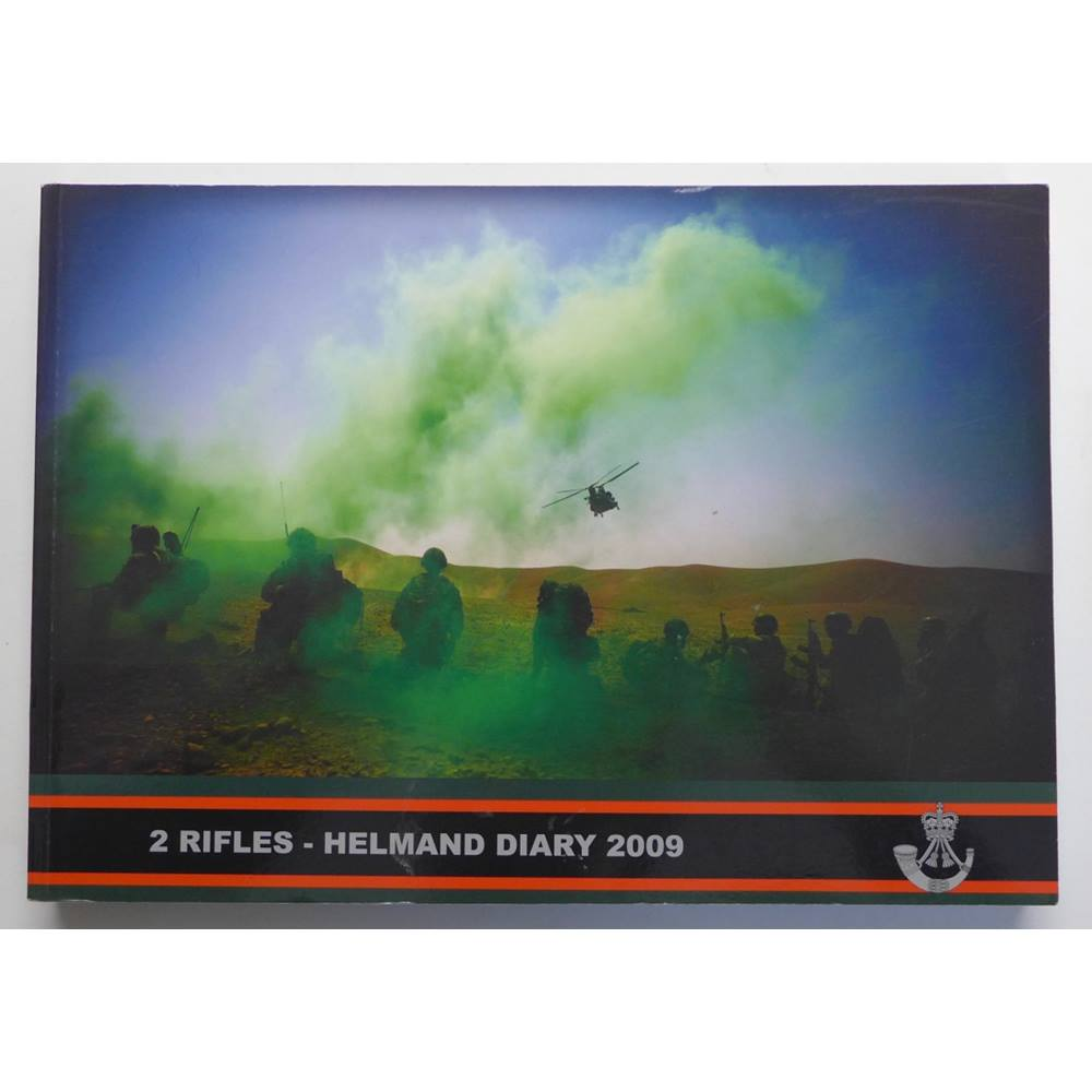 Preview of the first image of 2 Rifles - Helmand Diary 2009.