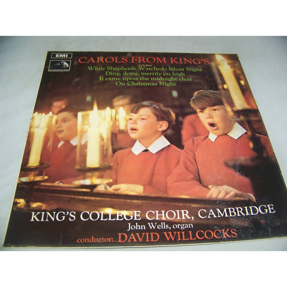 Oxfam Christmas Trees: Carols From King's - Csd 3661 - LP