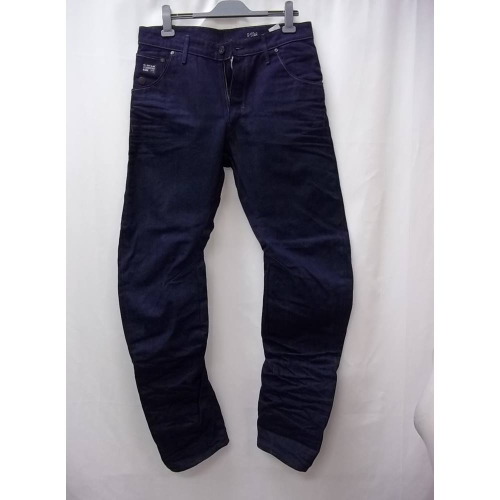 aa14bc2700e ... pair trendy of jeans. Also, has 5 pockets, front zip, button and belt  loops. You can team up with a top, footwear and accessories. Label size 34  Inside.