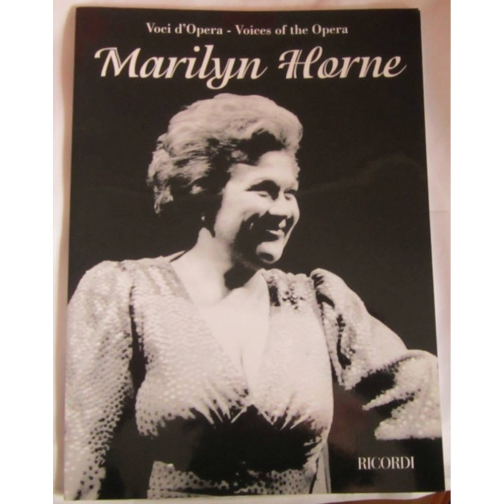 Voci D'Opera Voices of the Opera Marilyn Horne For Sale in Wells, London |  Preloved