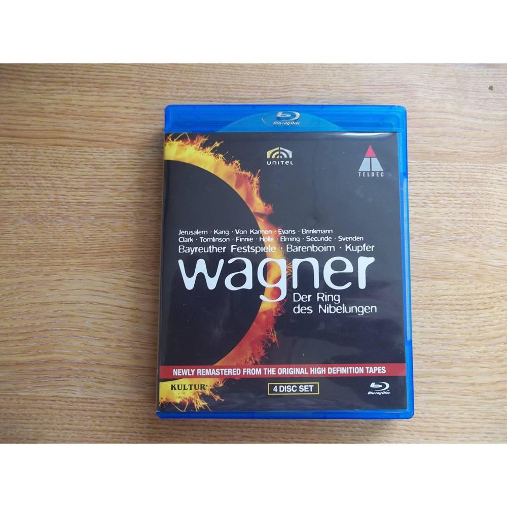 Wagner Der Ring Des Nibelungen 4 Disc Blu Ray For Sale In Deal London Preloved
