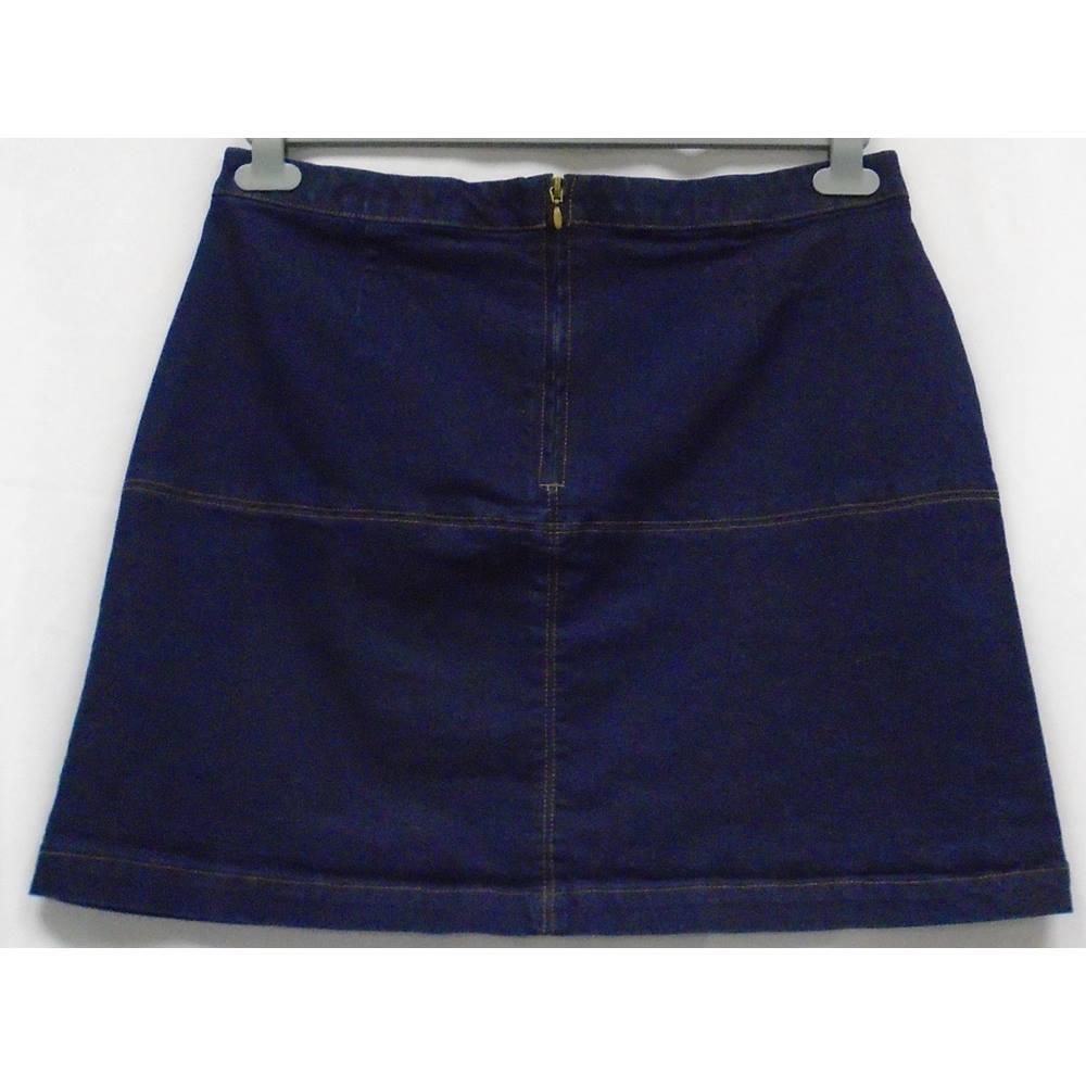 abaa10d4e6 Knee Length Denim Skirts Matalan - raveitsafe