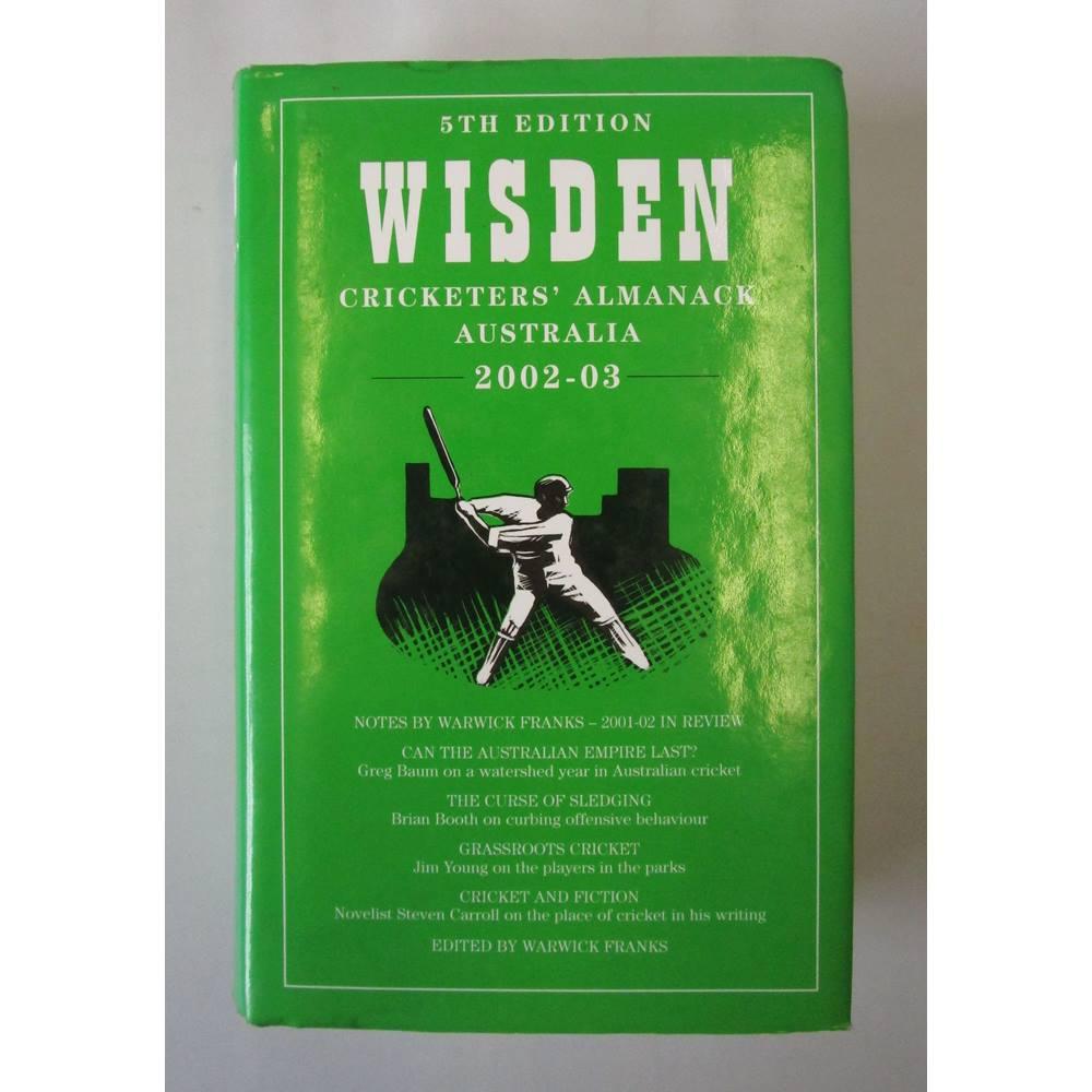 wisden cricketers almanack australia - Local Classifieds | Preloved