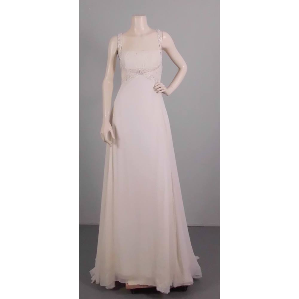 Grecian Wedding Dress.San Patrick Size 12 White Grecian Wedding Dress Oxfam Gb Oxfam S Online Shop