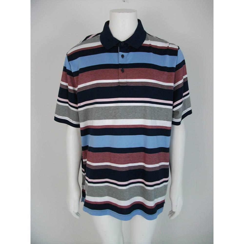 Nwot Marks Spencer Blue Harbour Striped Polo Shirt Size Xl Oxfam Gb Oxfam S Online Shop