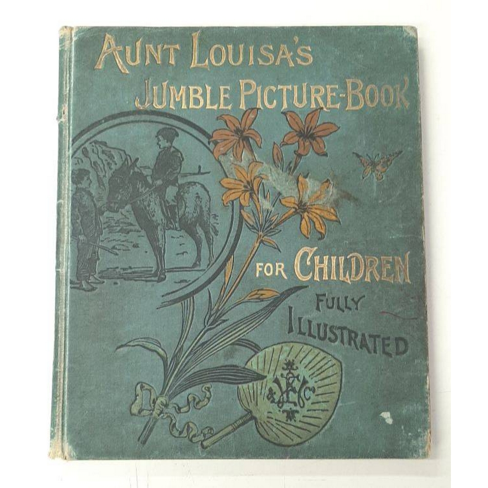Preview of the first image of Aunt Louisa's Jumble Book of Pictures and Stories for Little Folk.