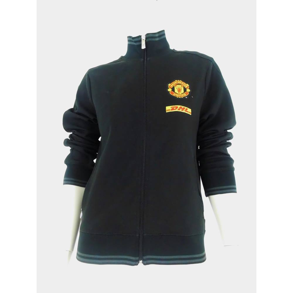 new style 30f40 cb488 Official Manchester United Zipped Training Jacket Youth Size L