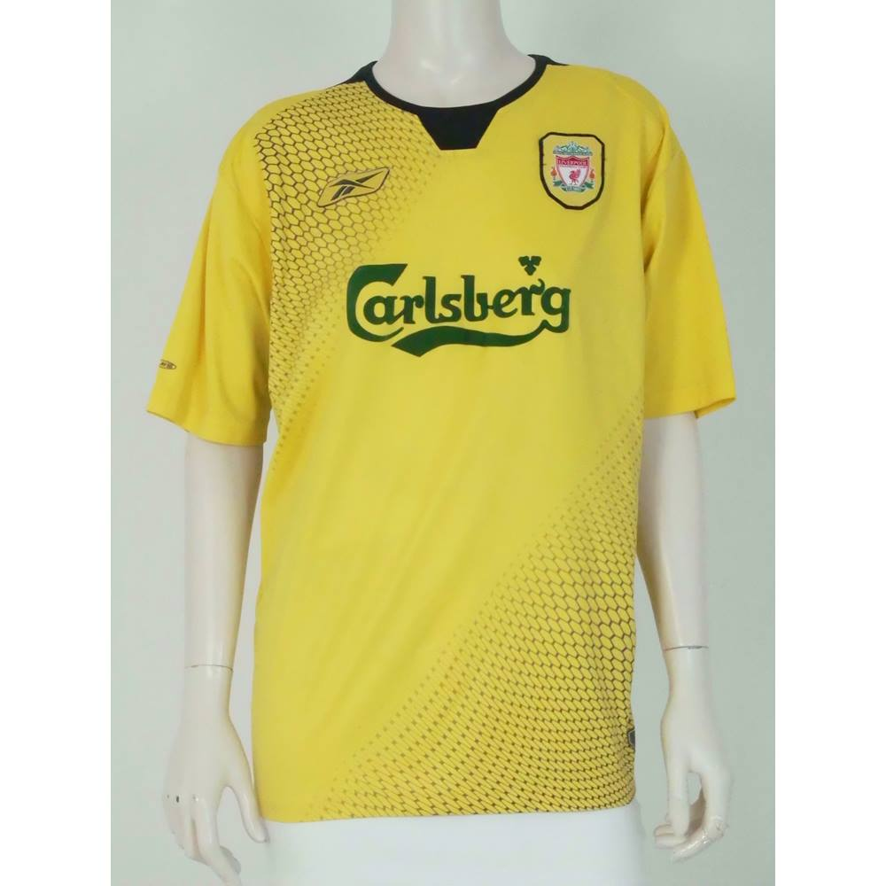 pretty nice cc160 1bbb5 Official Reebok 2004-06 Liverpool Away Shirt Size L For Sale in Batley,  London | Preloved