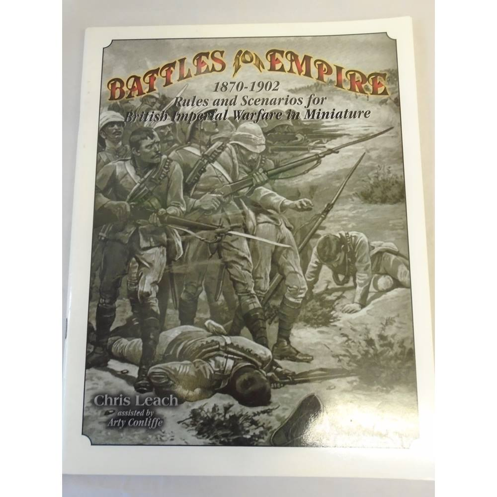 Battles for the Empire 1870-1902 Wargaming Rules | Oxfam GB | Oxfam's  Online Shop